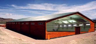 Steel Barns Sale Design Metal Barns With Living Quarters For Even Greater Strength
