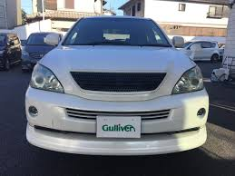2008 toyota harrier hybrid used car for sale at gulliver new zealand