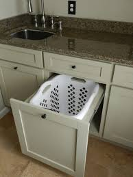 Pull Out Laundry Cabinet Articles With Pull Out Laundry Hamper Cabinet Tag Pull Out
