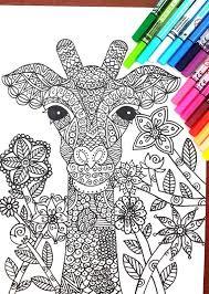 25 unique giraffe colors ideas on pinterest zoo animal coloring