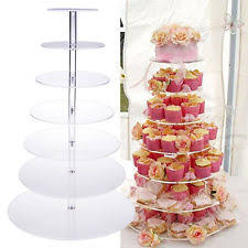 cupcake tower wedding cake stands u0026 plates ebay