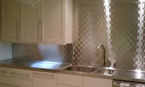 Stainless Steel Backsplash Sheets Find This Pin And More On - Custom stainless steel backsplash