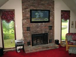 mount over fireplace tv how high too mounted above cable box tv