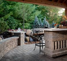 what to do with your ac unit when installing a new paver patio or