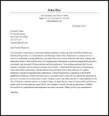 Pharmacy Technician Cover Letter professional pharmacy technician cover letter sle writing guide