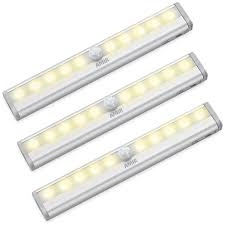 Cordless Under Cabinet Lighting by Amir Motion Sensing Closet Lights 3 Pack Diy Stick On Anywhere