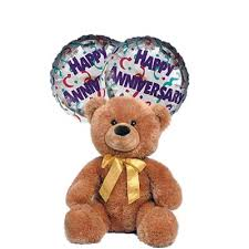 balloons and teddy delivery 29 best unique annivesary balloons online images on