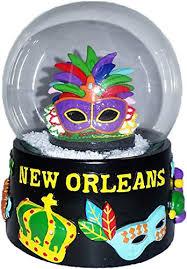 mardi gras mask new orleans new orleans mardi gras mask large 65mm souvenir snow