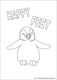 fun kids coloring pages happy feet coloring pages educational fun kids coloring pages