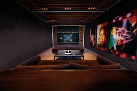 home theater in basement news business it home automation fairfield county ct