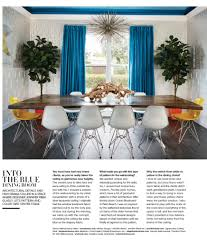 luxe magazine into the blue dining room jennifer ribek