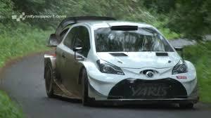 toyota germany latvala test wrc adac rallye deutschland 2017 toyota yaris wrc