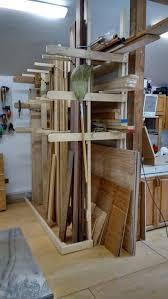 Rolling Lumber Storage Rack Plans by Best 25 Lumber Storage Rack Ideas On Pinterest Wood Storage