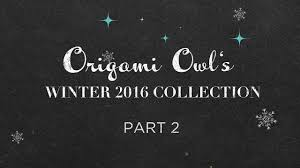origami owl 2016 collection day 2