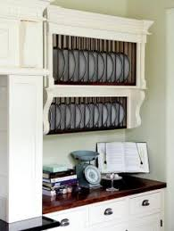 Shabby Chic Plate Rack by Take A Bookcase Some Wood Boxes And An Old Plate Rack And White