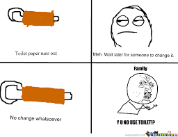 Meme Toilet - when toilet paper runs out by ineedtopee meme center