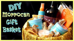 Pamper Gift Basket Diy Pamper Gift Basket Easy Moroccan Gift Basket Ideas Youtube