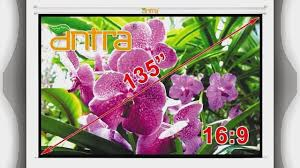 motorized home theater screen favi 100 inch 16 9 fixed frame projector screen 87 x 49 video