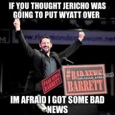 Bad News Barrett Meme - wade barrett bad new barret wrestling rasslin pinterest