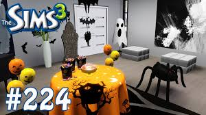 halloween house decorating games the sims 3 halloween decorating part 224 youtube