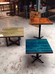 home design cool diy restaurant tables reclaimed wood table top