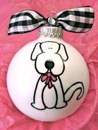 painted light bulb ornament reindeer by holidaypainter