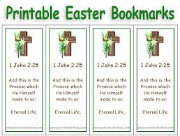 free printable easter bookmarks select picture text