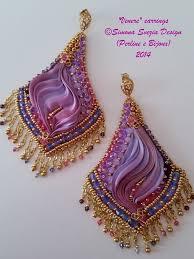 shibori ribbon gorgeous shibori ribbon beaded jewelry by perline e bijoux the