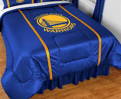 Nba Bed Set Golden State Warriors Nba Comforter Sports Coverage Sidelines