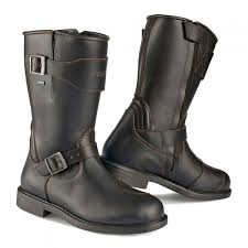 moto boots stylmartin legend r boots brown urban rider london