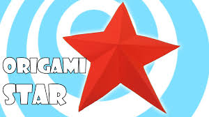 easy origami christmas star video tutorial origami origami