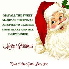 happy merry to you and family name pictures wishes