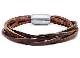 leather bracelet wristband images Men 39 s leather bracelets jpg