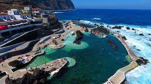Natural Swimming Pool Porto Moniz Natural Swimming Pool Aerial View Madeira Island