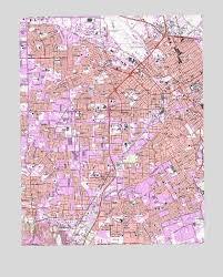 san jose state map duncan san jose west ca topographic map topoquest