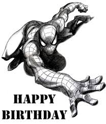 spiderman birthday coloring page spiderman coloring free spiderman coloring