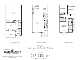 la costa collection floor plan 2a north county new homes