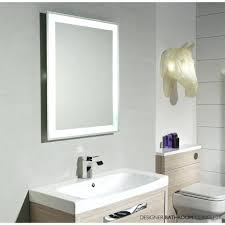 Lighted Bathroom Vanity Mirror Wall Mounted Lighted Makeup Mirror Hpianco