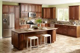 Neutral Colors For Kitchen Walls - classic neutral color kitchen design american style brown cabinet