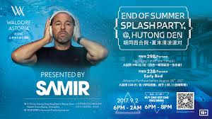 end of summer splash party at waldorf astoria hutong den the