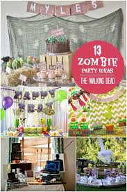 walking dead party supplies walking dead birthday party decorations