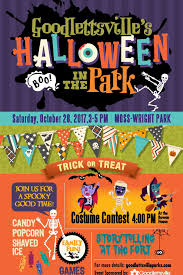halloween in the park goodlettsville tn official website