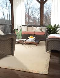Capel Outdoor Rugs Capel S Creative Concepts White Wicker Rugs Help To Define Your