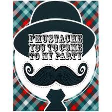 little man mustache invitations birthdayexpress com