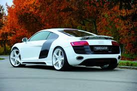 Audi R8 Modified - make your audi r8 v8 look like a v10 model with riegers new tuning kit