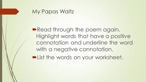 9 th grade poetry moore writing warm up think of a vivid