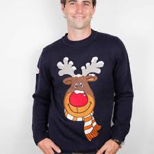 rudolph sweater rudolph the reindeer sweater from funky sweaters