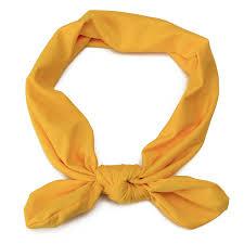 yellow headband baby stretch headband rabbit knotbow turban alex nld