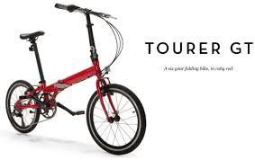 best folding bike 2012 the best fold up bicycle tourer gt 6 gear fold up bike