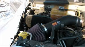 cold air intake for jeep k n cold air intake on 2003 jeep liberty